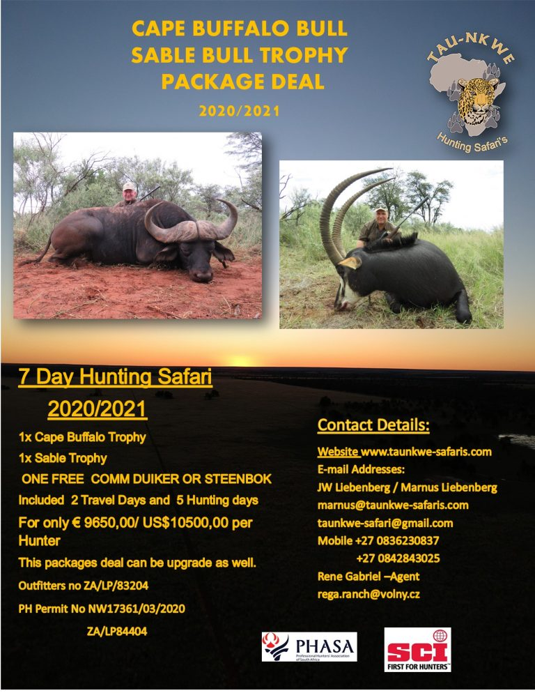 Humtimg Packages deal Cape Buffalo and Sable.pub